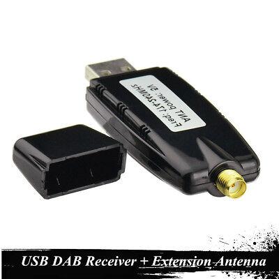 Car DVD Player DAB+ Digital Radio Receiver Audio Broadcast Aerial+USB 2.0 Dongle