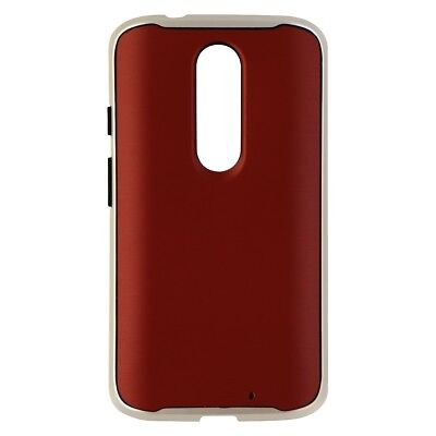 Silver Protective Case (Verizon Cover Series Protective Case for Motorola Droid Turbo 2 - Red)