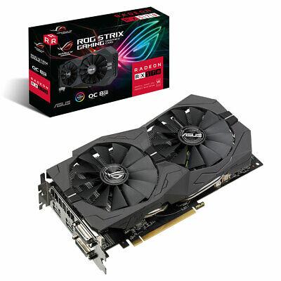 ASUS ROG Strix Radeon RX 570 OC Gaming Grafikkarte (AMD 8GB GDDR5)