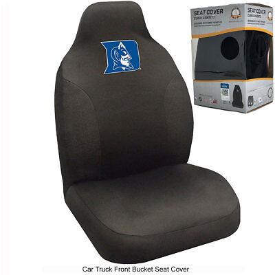 New NCAA University of Duke Blue Devils  Car Truck Front Seat Cover