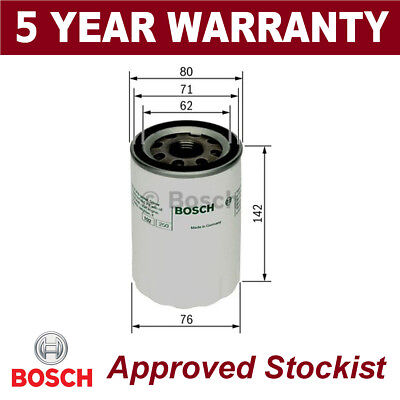 Bosch Nutzfahrzeug Ölfilter P3101 0451103101