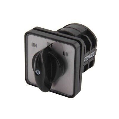 Rotary Changeover Switch 3-position On Label Middle Off 660v 10a 2-poles Cam