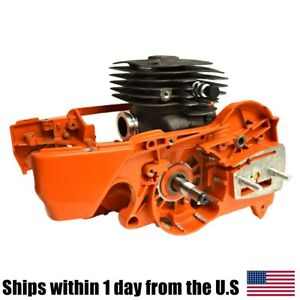 Husqvarna 362 365 371 372 372XP Crankcase Oil Tank Engine Cylinder Crankshaft