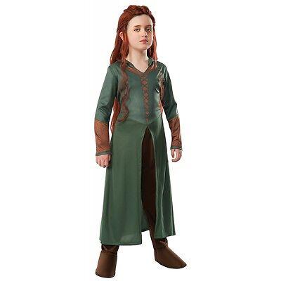 Tauriel Costume The Hobbit Halloween Fancy Dress (Halloween Hobbit Costume)