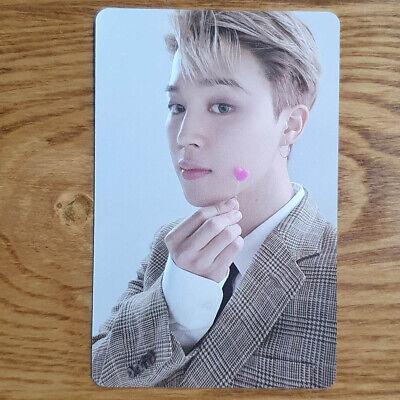 Jimin Official Photocard BTS Festa D-Day Calendar Kpop Genuine
