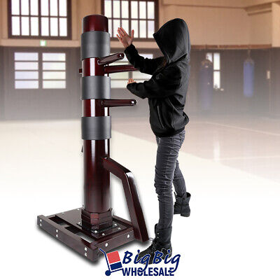 Wing Chun Target Wood Dummy Training Martial Arts Kung Fu Fight Practice Pads