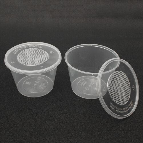 35ml 30 Set Small Plastic Sauce Cups Food Storage