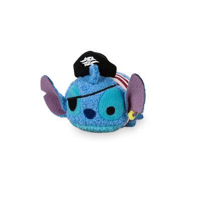 Disney Cruise Line Pirate Stitch Tsum Tsum Plush  Mini  3 1/2'' New with Tag