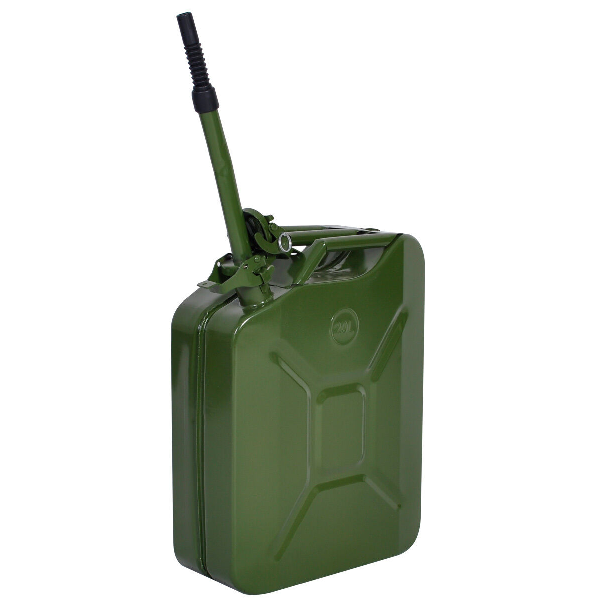 Comie  5 Gal 20L Gasoline Gas Fuel Jerry Can Emergency Backup Gas Caddy Tank
