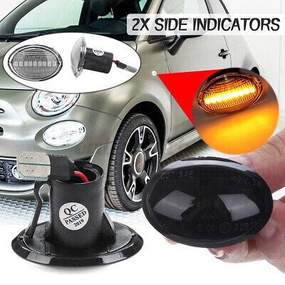 For Fiat 500 Ford KA Lancia Maserati Alfa LED Side Repeater Indicator Light Lamp