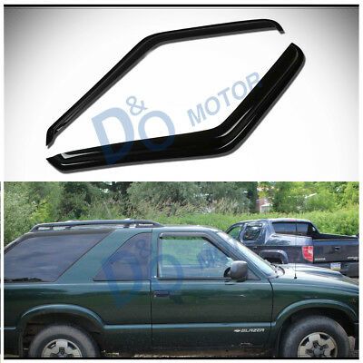 2pcs Front Vent Shade Window Visors Fit S10/Sonoma/Hombre & Blazer/Jimmy 2-Door Gmc 2 Piece Sonoma Vent