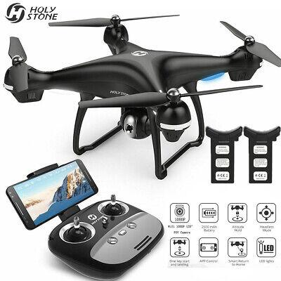 Holy Stone HS100 FPV Drohne Quadrocopter mit 1080P HD Kamera GPS RC Selfie Drone ()