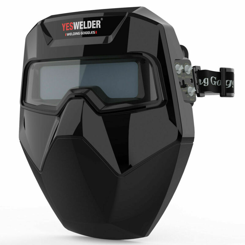 True Color Auto Darkening Welding Goggles with 2 Arc Sensor, Din 4/5-9/9-13