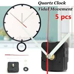 5x Long Hands Quartz Wall Clock Silence Movement Mechanism Repair Tool    New