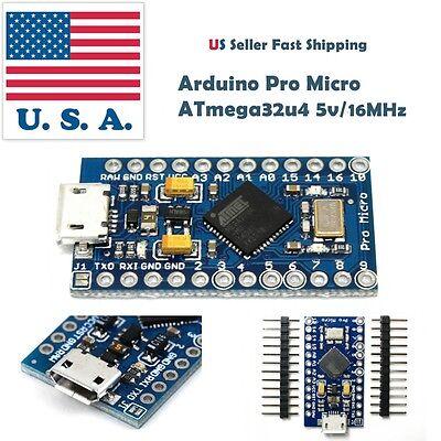 Pro Micro Leonardo Mini ATmega32U4 5V/16MHz Module For Arduino