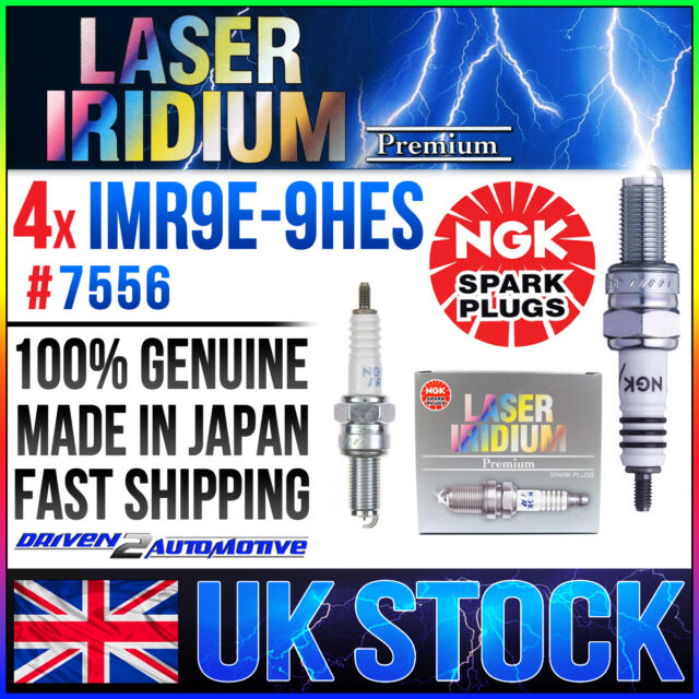 4x NGK IMR9E-9HES (7556) LASER IRIDIUM SPARK PLUGS HONDA CBR1000RR