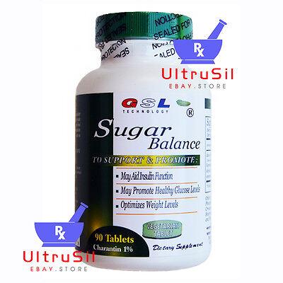 GSL Technology Sugar Balance Diabetic Supplement 90 Tablets (NEW)