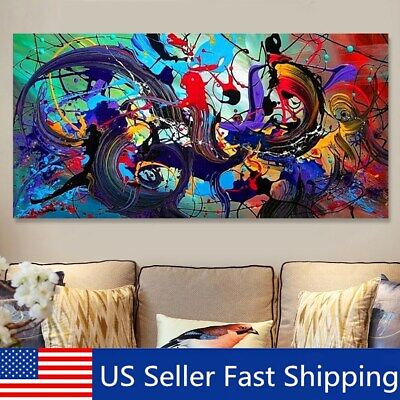 Modern Abstract Art Oil Painting Canvas Print Picture Unframed Home Wall Decor