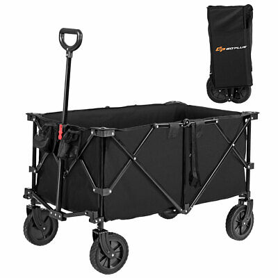 Collapsible Folding Wagon Cart Outdoor Utility Shopping Toy