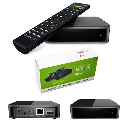 MAG 410 Android IPTV Streamer H.265 SET TOP BOX Stalker Multimedia Internet TV