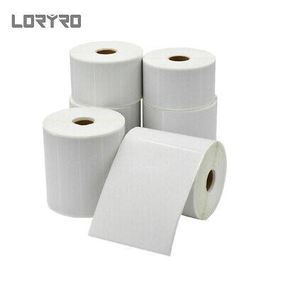 Yerppal 4x6 Thermal Shipping Label Waterproof Sticker Paper 350proll For Zebra