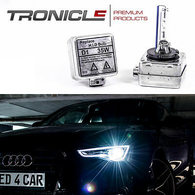 2 x D1S XENON BRENNER BIRNE Lampe Opel 8000K E4 Prüfzeichen Tronicle® StVZO Frei