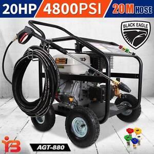 Buy Online 20 HP 4800 PSI Heavy-Duty Petrol Pressure Cleaner Fairfield Fairfield Area Preview