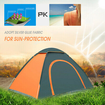 3-4 Person Automatic Instant Pop Up Tent Outdoor Camping Wat