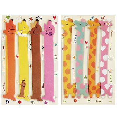 Giraffe Dachshund Note Tabs Bookmark Flags Set Of 2