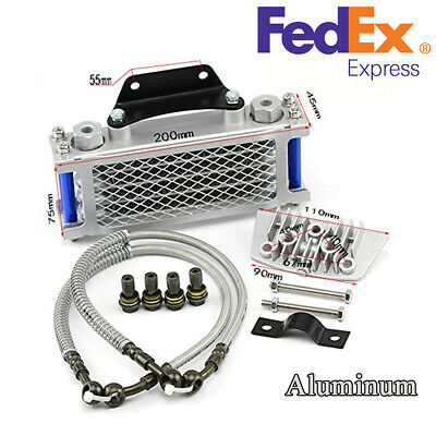 Oil Cooler Radiator For 50 70 90 110CC Dirt Pit Bike Racing Motorcycle(US Stock)