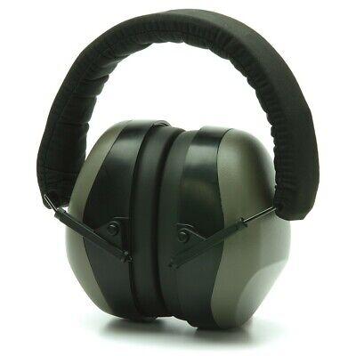 Pyramex Pm8010 - Pm80 Series Low Profile Grey Ear Muffs - 26 Nrr