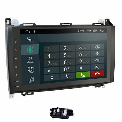 "9""Autoradio Android 10.0 DAB+Navi GPS Mercedes Benz A Klasse Sprinter Vito Viano"