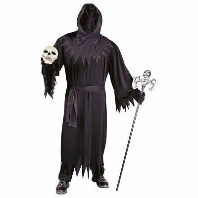 NEW Grim Reaper Unknown Phantom Costume Adult Death Halloween FunWorld 9952