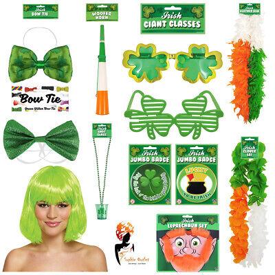 St Patricks Day Party Costume Accessories Irish Tie Fancy Dress Badge Sunglasses - St Patricks Day Sunglasses