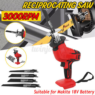 Cordless Electric Reciprocating Saw Outdoor Saber Saw For Makita 18V Battery !!