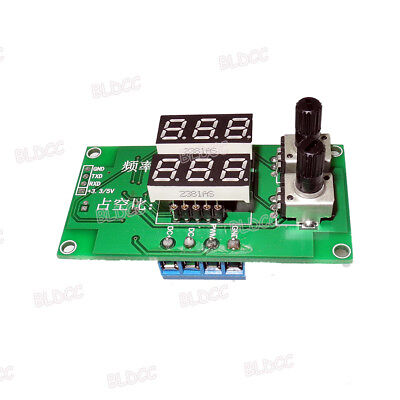Digital Display Adjustable Pwm Signal Generator Square Wave Generator Module