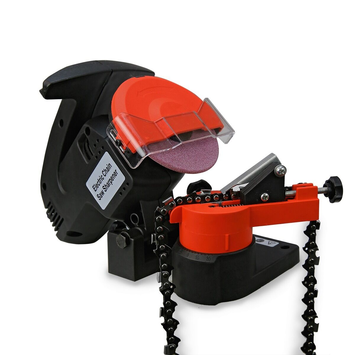 how to use electric chainsaw chain sharpener
