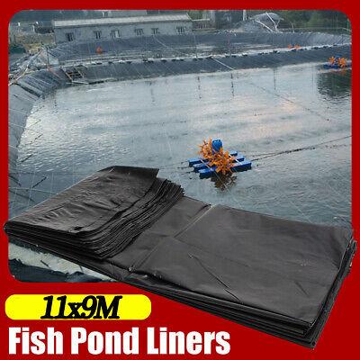 36FT Fish Pond Liners Liner Garden Pool HDPE Membrane Reinforced Landscaping