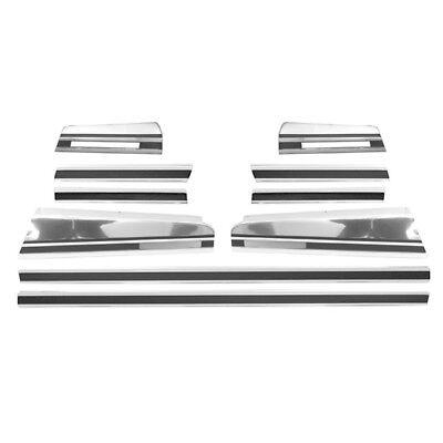 - 1970 1971 1972 Monte Carlo Body Door Side Trim Moldings 10 Pieces Set - M1503