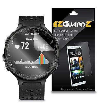 4X EZguardz LCD Screen Protector HD 4X For Garmin Forerunner 235 (Ultra Clear)