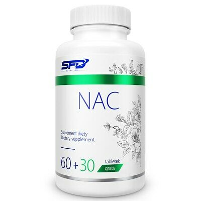600 Mg 90 Tabs (NAC N Acetyl L Cysteine 600mg - 90 Tabs - 360 Servings Liver & Lung Support)