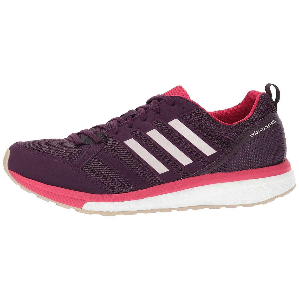Womens ADIDAS Sneakers ADIZERO TEMPO 9 Red Night Running Shoes NEW 1