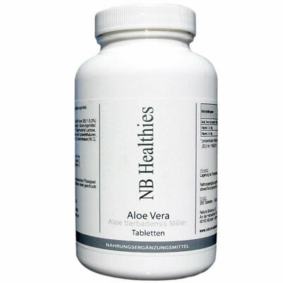 200 Kapseln Aloe Vera hochdosiert 200:1 Konzentrat 12.000mg áTablette Detox Darm