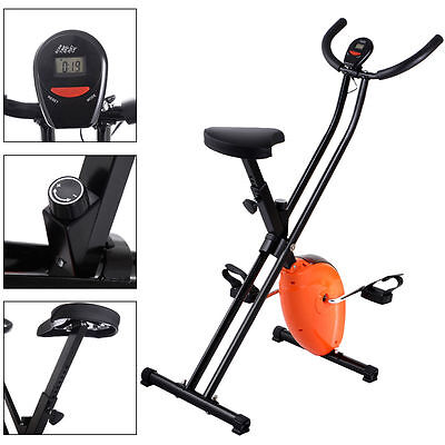 Exercise Bike Magnetic Cycling Machine Cardio Fitness Stationary Folding