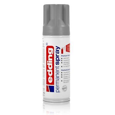 edding Permanent Spray silber matt 200 ml Premium Acryllack Spraydose