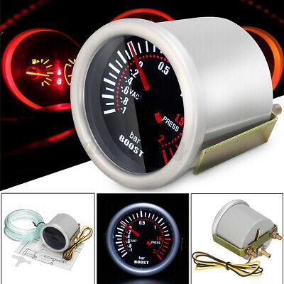 Universal 2'' 52mm Car LED Bar Turbo Boost Vacuum Pressure Gauge Meter Dials Bar