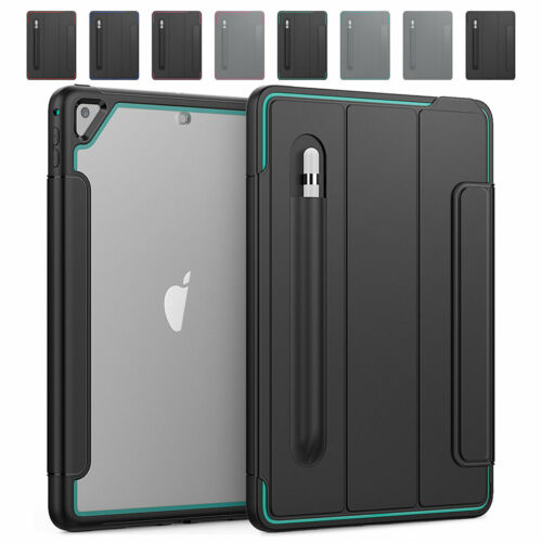 For iPad 10.2'' Case 7th Generation 2019 Smart Cover with Ap