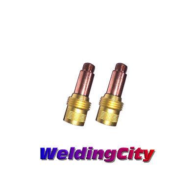 2-pk Tig Welding Gas Lens Collet Body 45v26 332 Torch 171826 Us Seller Fast