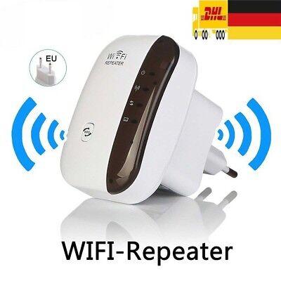 EU WIFI Repeater Mini Router AP 2,4GHz WLAN 802.11n Verstärker Extender 300Mbps
