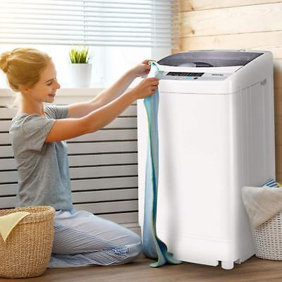 Compact Compact Full-Automatic Washing Machine 1.6 Cu.ft Laundry Washer Spin